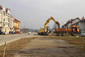 Rekonstrukcija Krležine, Kratke i Kuharićeve ulice