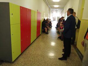U Osnovnoj školi Ludbreg postavljeni školski ormarići