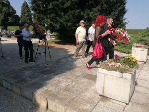 Povodom Dana antifašističke borbe položeni vijenci