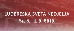 Program manifestacije Dani ludbreške Svete nedjelje