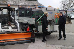 Lukom: Zimska služba spremna, nabavljen električni posipač