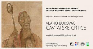 "Najava: Izložba ""Vlaho Bukovac /Cavtatske crtice"""